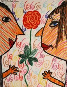 plakat namalowany przez Paulinę Siudmak