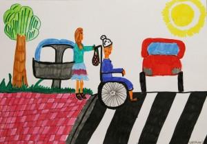 plakat namalowany przez Natalię Stemplewską